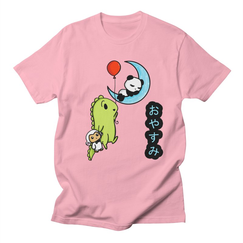 Sleepy Panda- Oyasumi Women's Unisex T-Shirt by Dino & Panda Inc Artist Shop