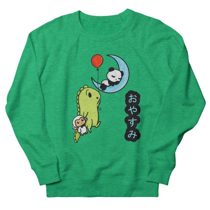 Sleepy Panda- Oyasumi Women's Sweatshirt by Dino & Panda Inc Artist Shop