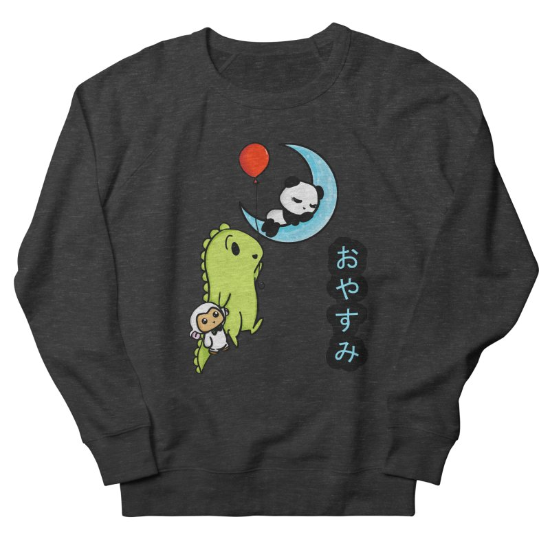 Sleepy Panda- Oyasumi Men's Sweatshirt by Dino & Panda Inc Artist Shop