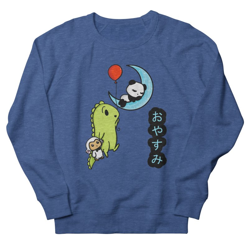 Sleepy Panda- Oyasumi Men's Sweatshirt by Dino & Panda Inc Artist Shop