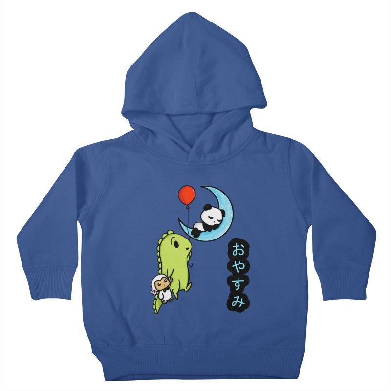 Sleepy Panda- Oyasumi Kids Toddler Pullover Hoody by Dino & Panda Inc Artist Shop