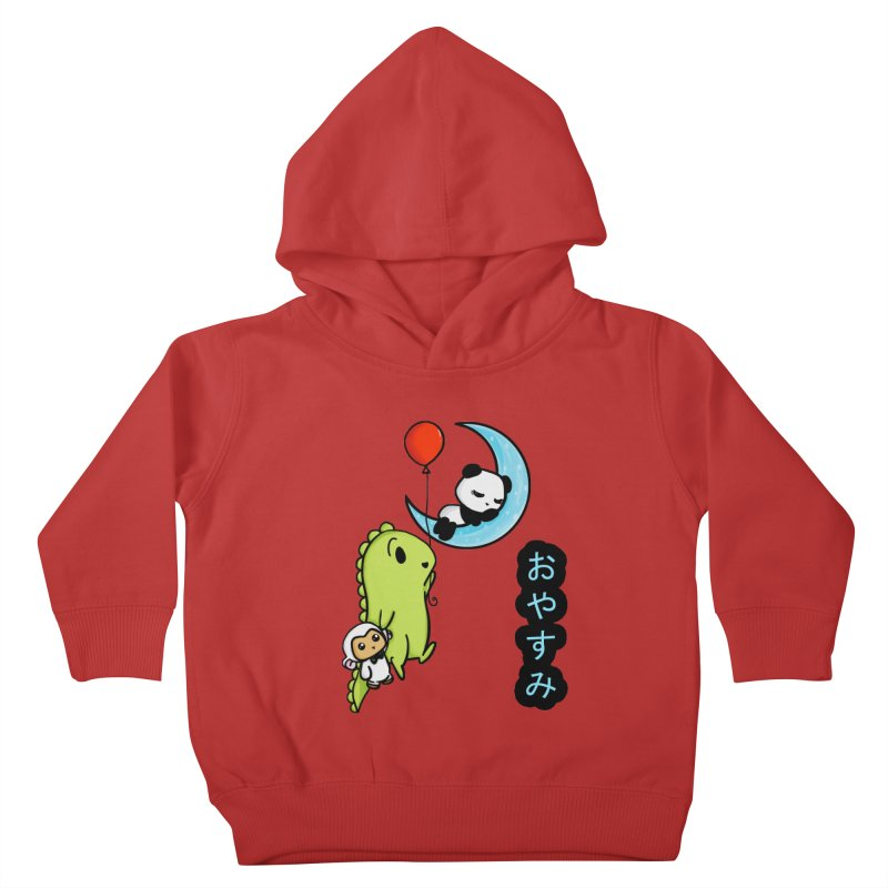 Sleepy Panda- Oyasumi Kids Toddler Pullover Hoody by Dino & Panda Inc Artist Shop