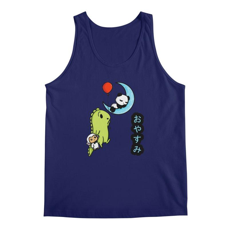 Sleepy Panda- Oyasumi Men's Regular Tank by Dino & Panda Inc Artist Shop