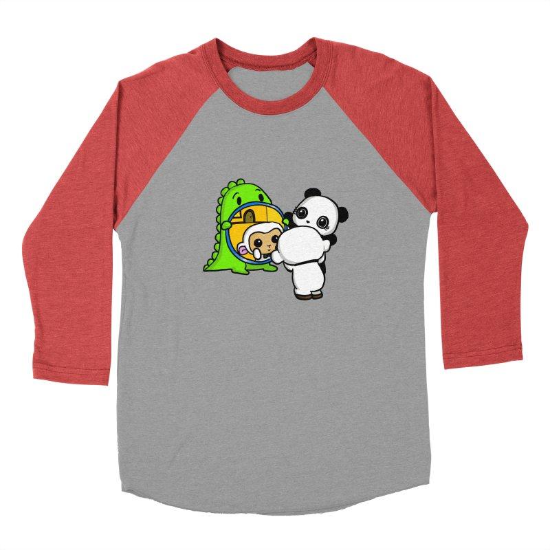 Mirror Mirror Men's Longsleeve T-Shirt by Dino & Panda Artist Shop