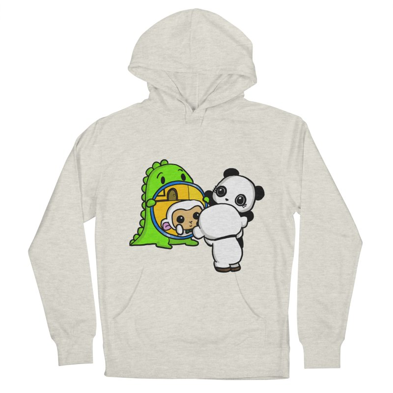Mirror Mirror Women's French Terry Pullover Hoody by Dino & Panda Inc Artist Shop