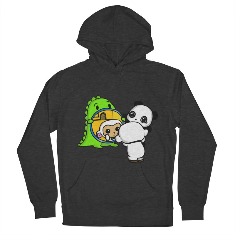 Mirror Mirror Men's French Terry Pullover Hoody by Dino & Panda Inc Artist Shop