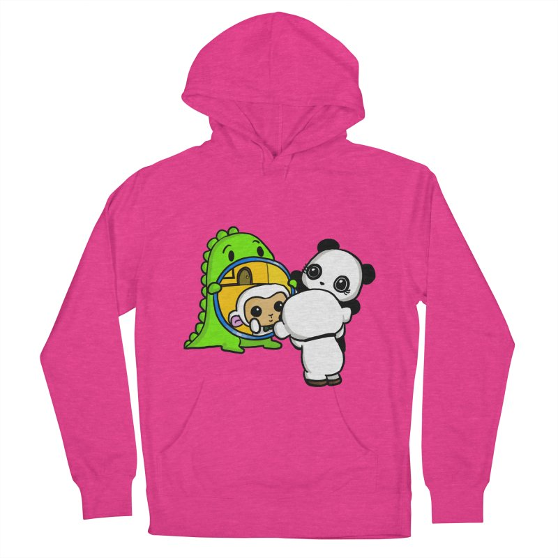 Mirror Mirror Men's Pullover Hoody by Dino & Panda Inc Artist Shop