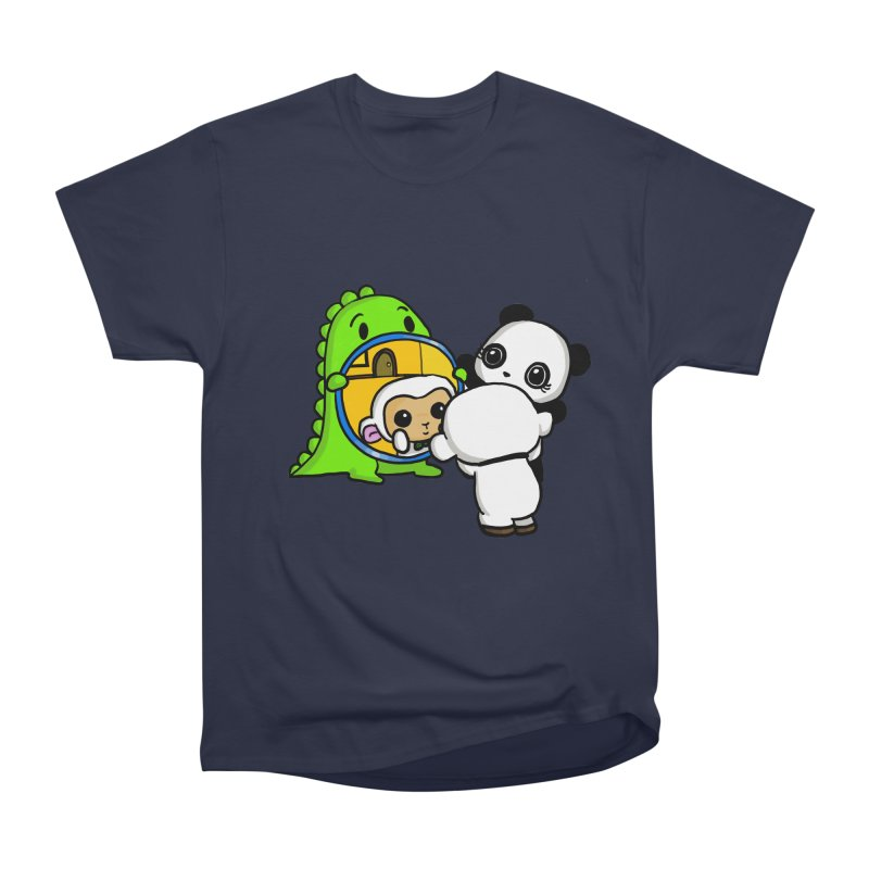 Mirror Mirror Women's Classic Unisex T-Shirt by Dino & Panda Inc Artist Shop