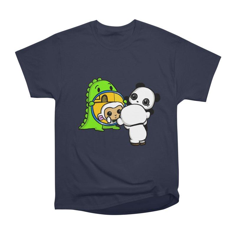 Mirror Mirror Men's Classic T-Shirt by Dino & Panda Inc Artist Shop