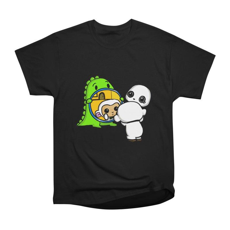 Mirror Mirror Men's Heavyweight T-Shirt by Dino & Panda Inc Artist Shop