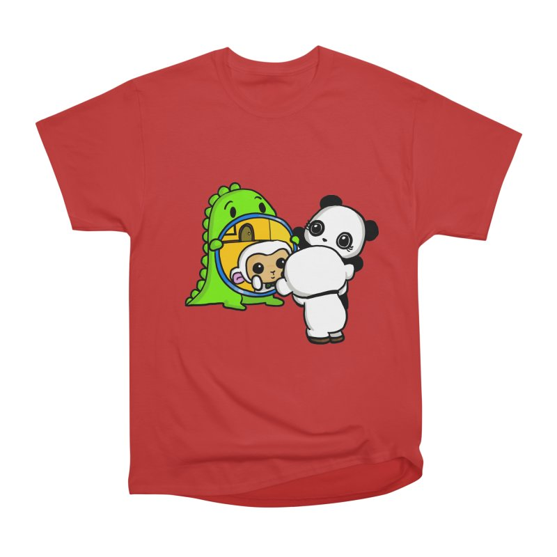 Mirror Mirror Men's Classic T-Shirt by Dino & Panda Inc Artist Shop