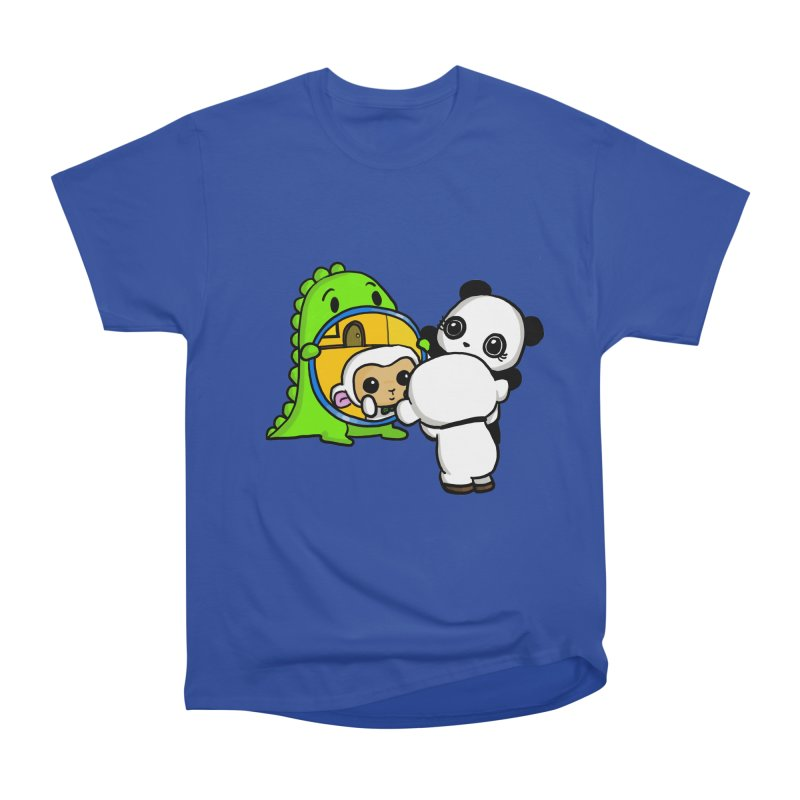 Mirror Mirror Men's Heavyweight T-Shirt by Dino & Panda Inc Artist Shop