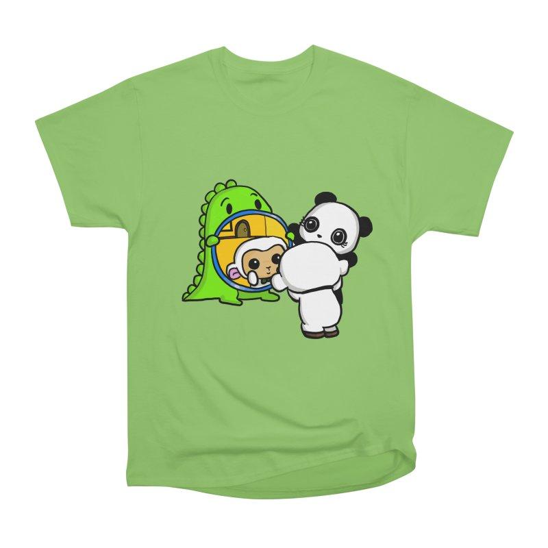 Mirror Mirror Women's Heavyweight Unisex T-Shirt by Dino & Panda Inc Artist Shop
