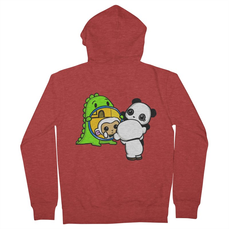 Mirror Mirror Women's Zip-Up Hoody by Dino & Panda Inc Artist Shop