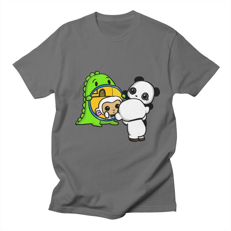 Mirror Mirror Men's Regular T-Shirt by Dino & Panda Inc Artist Shop