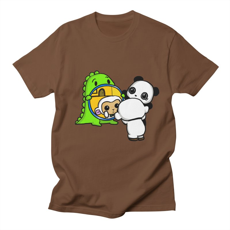 Mirror Mirror Women's Regular Unisex T-Shirt by Dino & Panda Inc Artist Shop