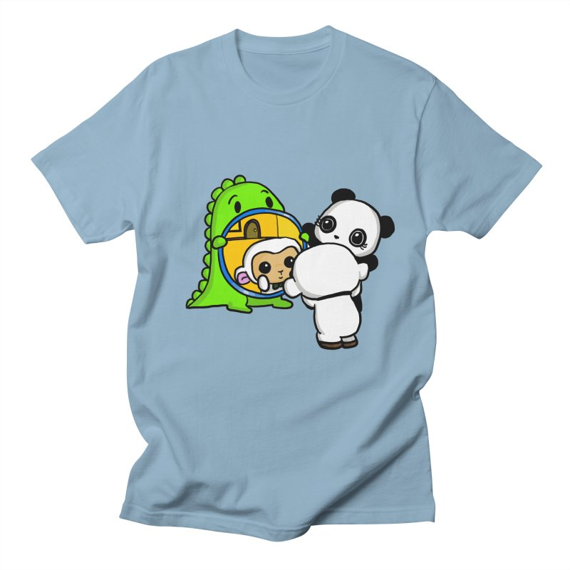 Mirror Mirror Men's Regular T-Shirt by Dino & Panda Inc Artist Shop