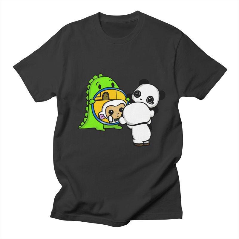 Mirror Mirror Women's Regular Unisex T-Shirt by Dino & Panda Inc Artist Shop
