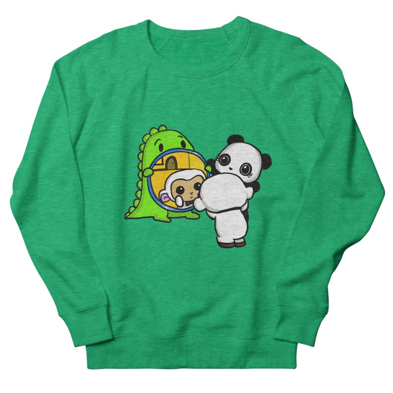 Mirror Mirror Women's Sweatshirt by Dino & Panda Inc Artist Shop