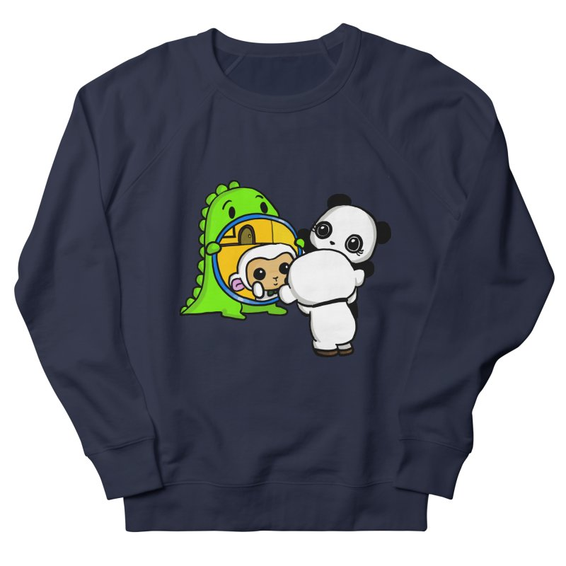 Mirror Mirror Men's Sweatshirt by Dino & Panda Inc Artist Shop