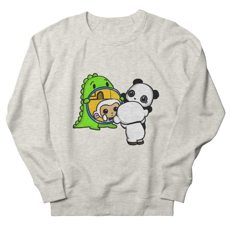 Mirror Mirror Men's Sweatshirt by Dino & Panda Inc Artist Shop
