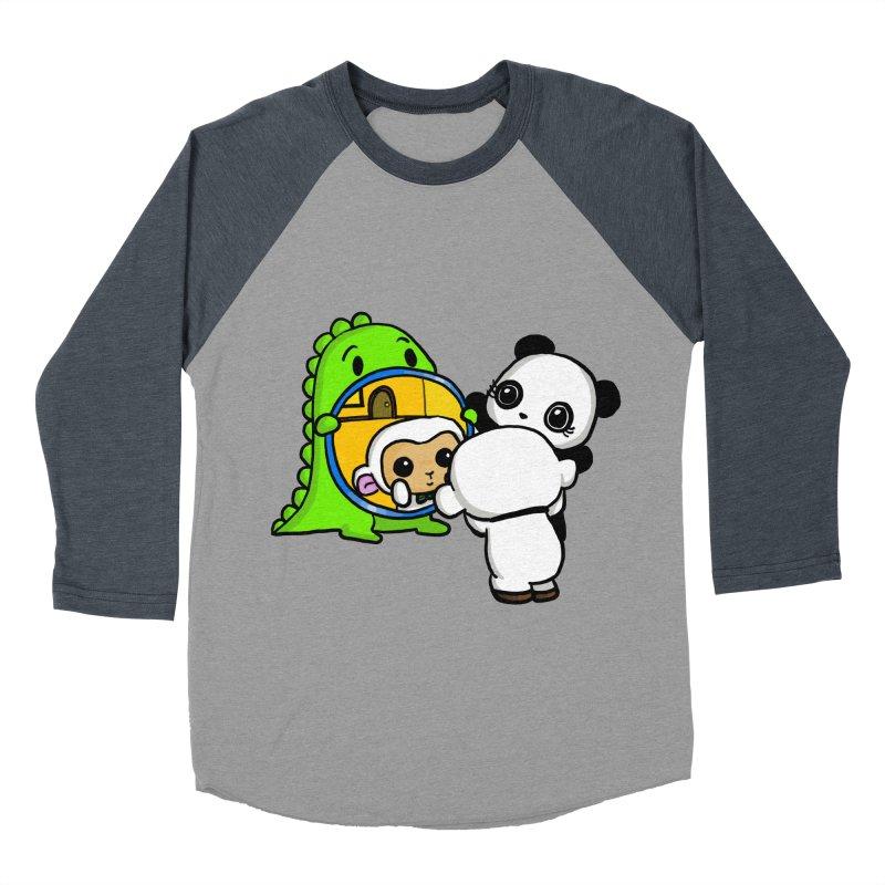 Mirror Mirror Women's Baseball Triblend T-Shirt by Dino & Panda Inc Artist Shop