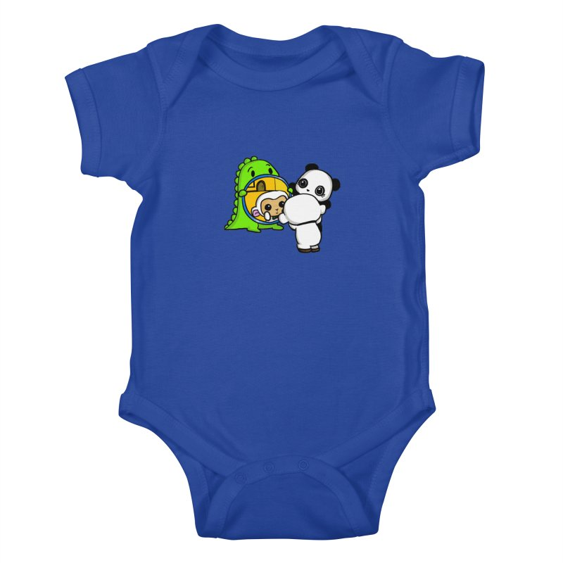 Mirror Mirror Kids Baby Bodysuit by Dino & Panda Inc Artist Shop