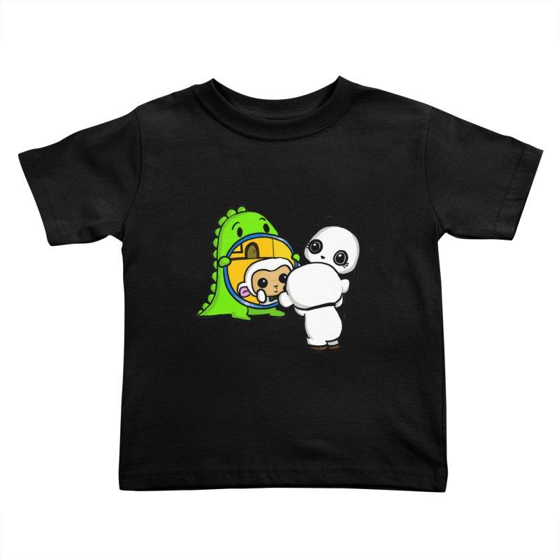 Mirror Mirror Kids Toddler T-Shirt by Dino & Panda Inc Artist Shop
