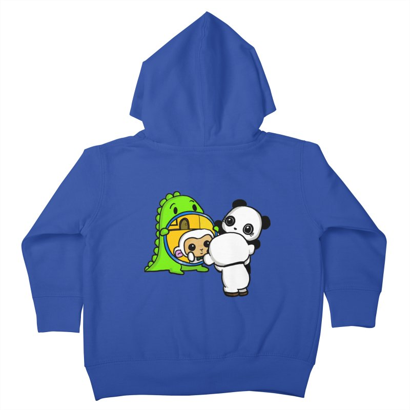 Mirror Mirror Kids Toddler Zip-Up Hoody by Dino & Panda Inc Artist Shop
