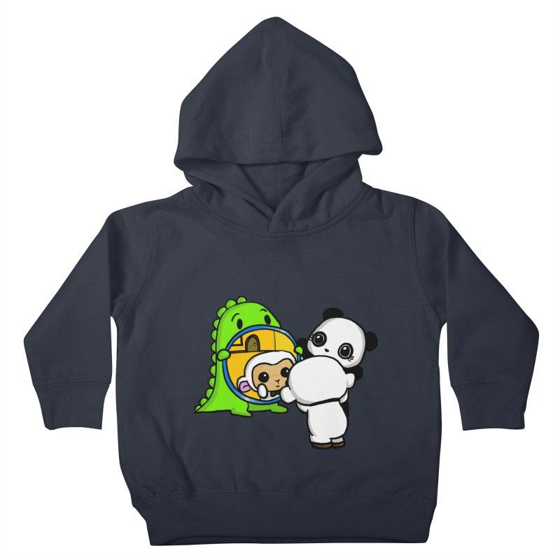 Mirror Mirror Kids Toddler Pullover Hoody by Dino & Panda Inc Artist Shop