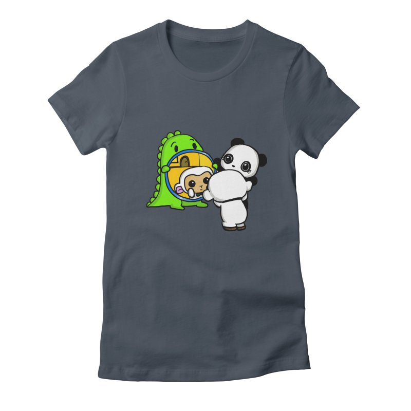 Mirror Mirror Women's T-Shirt by Dino & Panda Inc Artist Shop