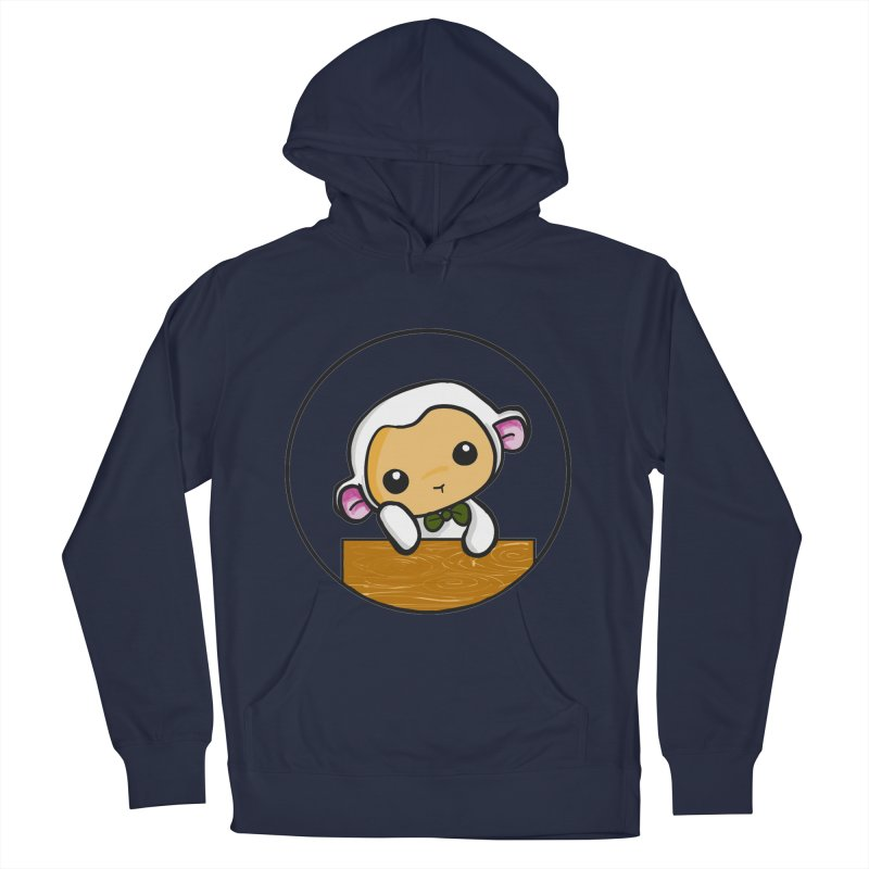 Lambie Thinking Men's Pullover Hoody by Dino & Panda Inc Artist Shop
