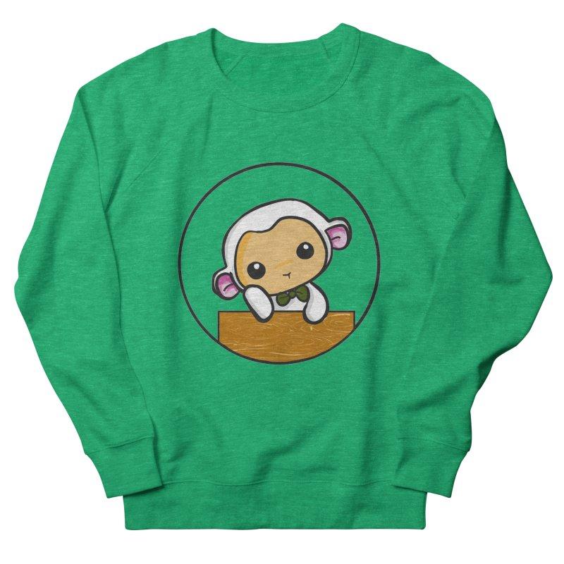 Lambie Thinking Men's Sweatshirt by Dino & Panda Inc Artist Shop