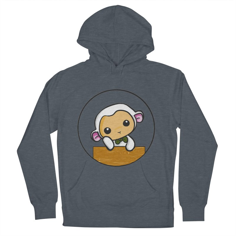 Lambie Thinking Women's Pullover Hoody by Dino & Panda Inc Artist Shop