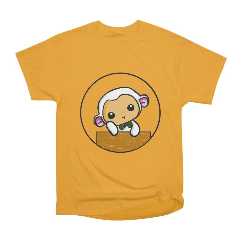 Lambie Thinking Men's Classic T-Shirt by Dino & Panda Inc Artist Shop