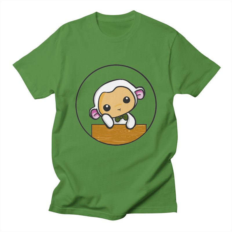 Lambie Thinking Women's T-Shirt by Dino & Panda Inc Artist Shop