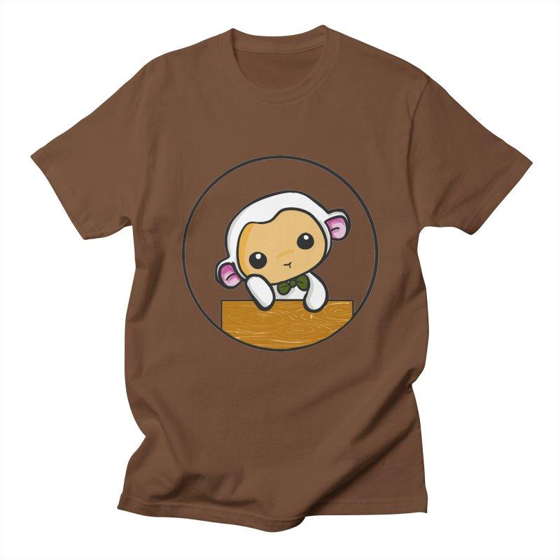 Lambie Thinking Women's Regular Unisex T-Shirt by Dino & Panda Inc Artist Shop
