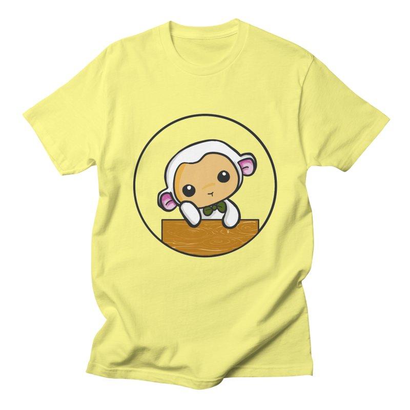 Lambie Thinking Women's Unisex T-Shirt by Dino & Panda Inc Artist Shop