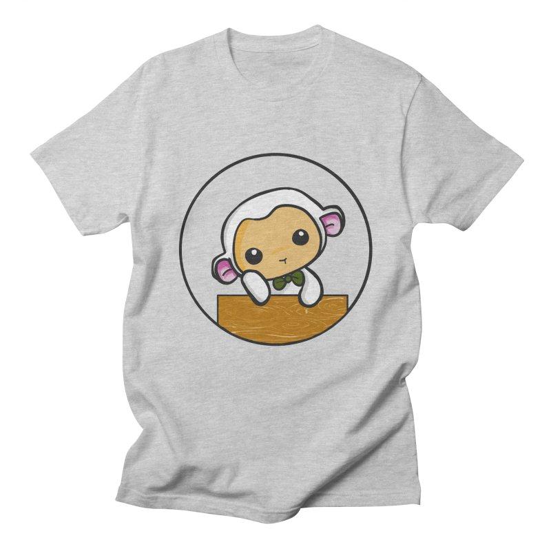 Lambie Thinking Men's T-shirt by Dino & Panda Inc Artist Shop