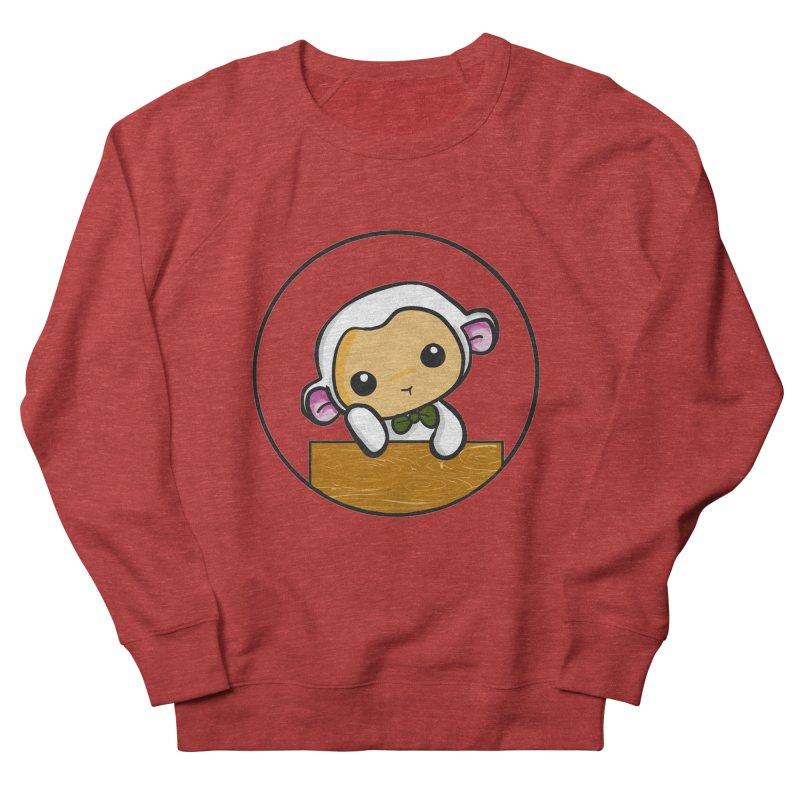 Lambie Thinking Women's Sweatshirt by Dino & Panda Inc Artist Shop