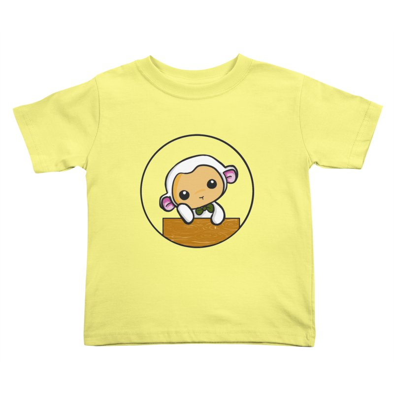 Lambie Thinking Kids Toddler T-Shirt by Dino & Panda Inc Artist Shop