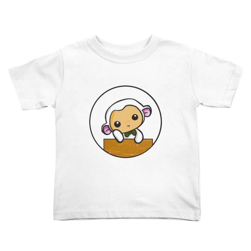 Lambie Thinking Kids Toddler T-Shirt by Dino & Panda Inc Artist Shop