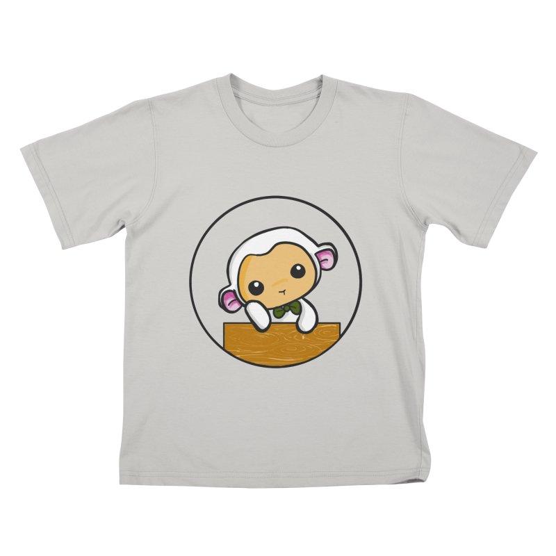 Lambie Thinking Kids T-Shirt by Dino & Panda Inc Artist Shop