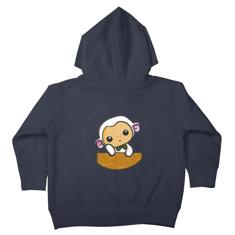Lambie Thinking Kids Toddler Zip-Up Hoody by Dino & Panda Inc Artist Shop
