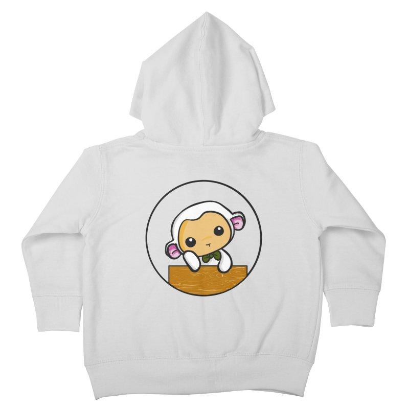 Lambie Thinking Kids Toddler Zip-Up Hoody by Dino & Panda Inc Artist Shop