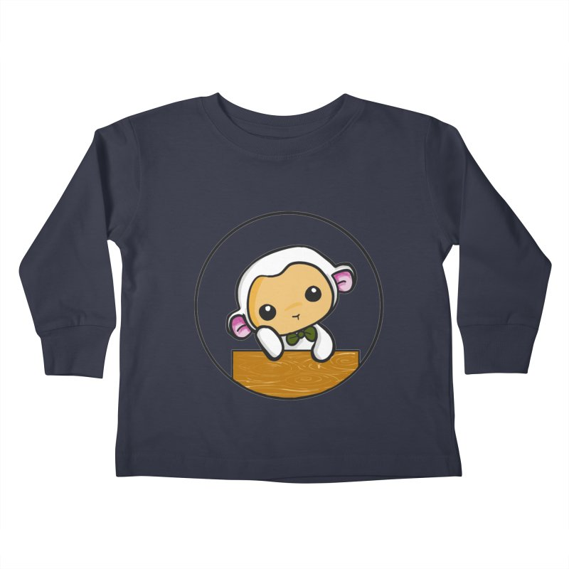 Lambie Thinking Kids Toddler Longsleeve T-Shirt by Dino & Panda Inc Artist Shop