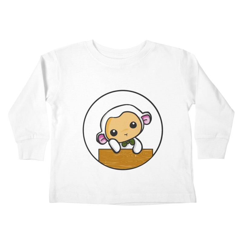 Lambie Thinking Kids Toddler Longsleeve T-Shirt by Dino & Panda Inc Artist Shop