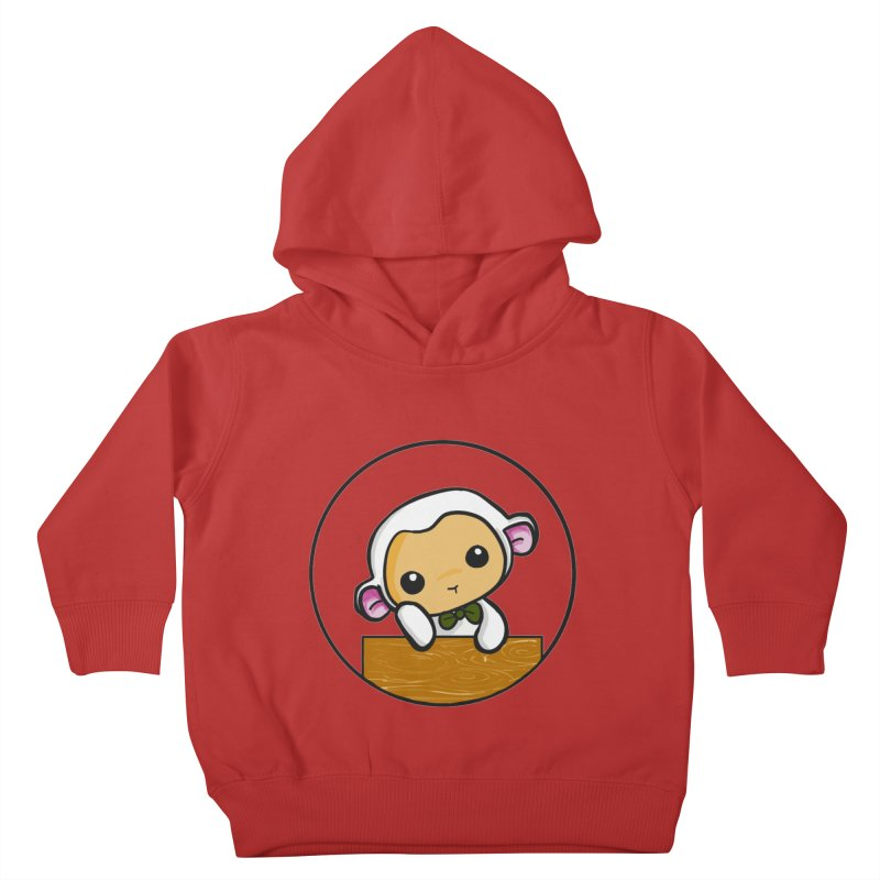 Lambie Thinking Kids Toddler Pullover Hoody by Dino & Panda Inc Artist Shop