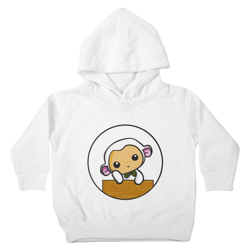 Lambie Thinking Kids Toddler Pullover Hoody by Dino & Panda Inc Artist Shop