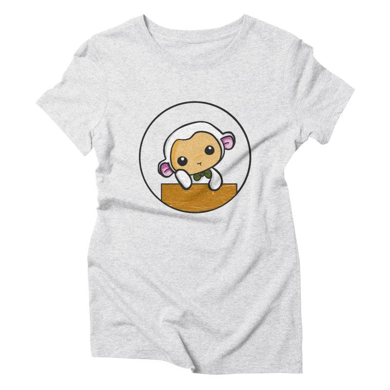 Lambie Thinking Women's T-Shirt by Dino & Panda Inc Artist Shop